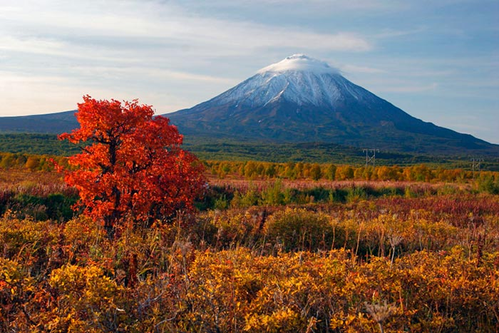 Tours to Kamchatka in October