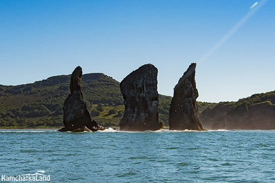 Three Brothers rocks