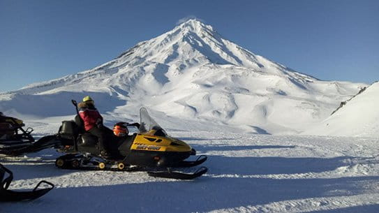 kamchatka in spring for tourists